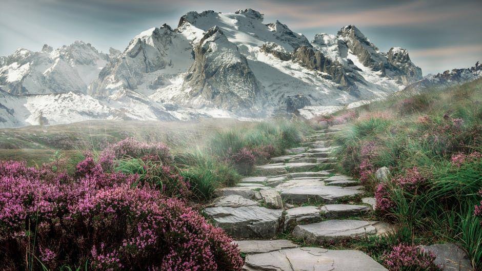 faith on path