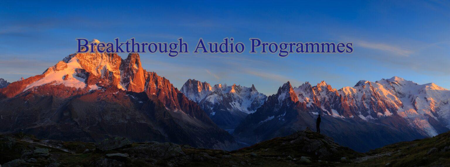 Breakthrough Audio Programmes