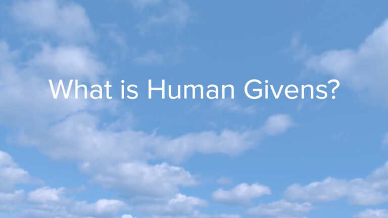human givens counselling